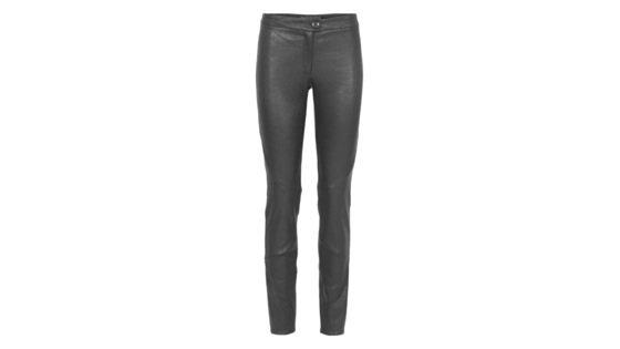 Stretch-læder- bukser